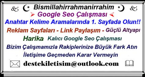 Google seo calismasi uzmani hizmeti fiyatlarii 1